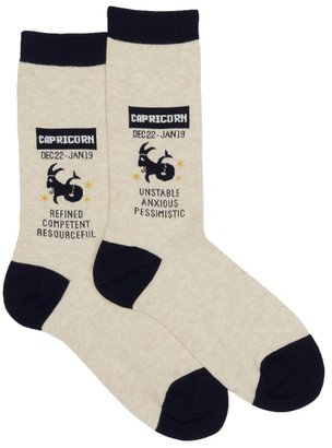 Hot Sox Capricorn Crew Socks