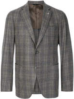 Tombolini plaid blazer