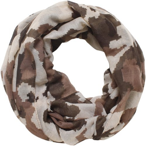 D&Y Women's Digital Camo Print Scarf