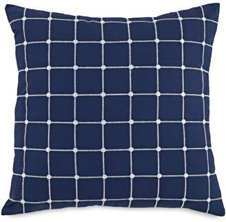 Southern Tide Royal Pine Geo Embroidered Decorative Pillow