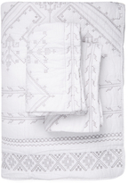 Melange Home Jackson Embroidered Cotton Quilt Set