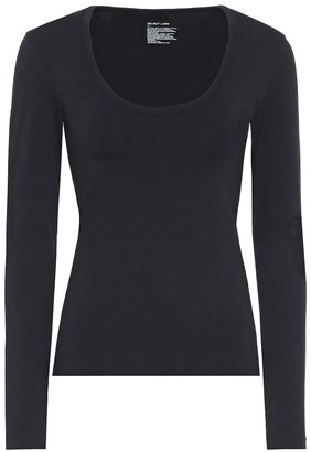 Helmut Lang Seamless scoop-neck top