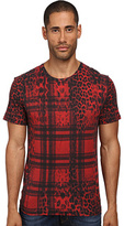 Just Cavalli Buffalo Rebellion Tee Men's T Shirt