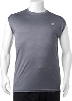 Russell Athletic Big & Tall Russell Heathered Dri-POWER Performance Muscle Tee