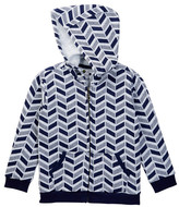 Petit Lem Hooded Knit Sweatshirt (Toddler & Little Boys)