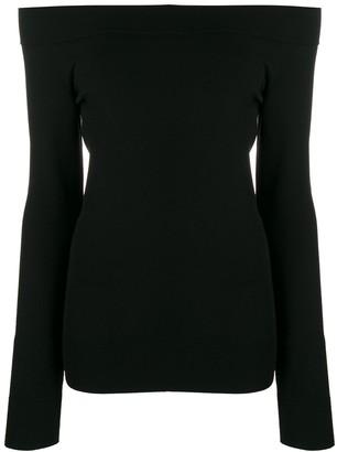 Dolce & Gabbana off-shoulder fitted top