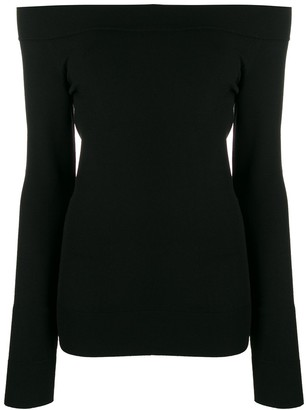 Dolce & Gabbana Off-Shoulder Fitted Top