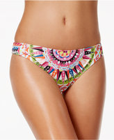 Bar III Cartwheels Printed Cheeky Hipster Bikini Bottoms, Only at Macy's