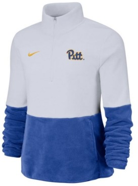 Nike Women's Pittsburgh Panthers Therma Long Sleeve Quarter-Zip Pullover