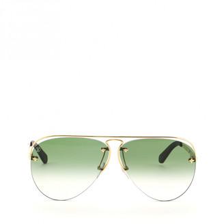 Louis Vuitton Green Other Sunglasses
