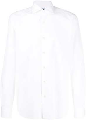 Barba Button-Down Cotton Shirt