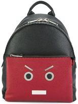 Fendi 'No Words' backpack - men - Leather/Nylon - One Size