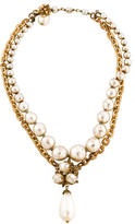 Miriam Haskell Multistrand Pearl Necklace