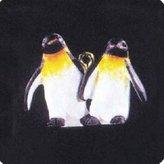 Mini A Ture QXM4059 Playful Penguins Noah's Ark Series 1995 Miniature Hallmark Keepsake Ornament