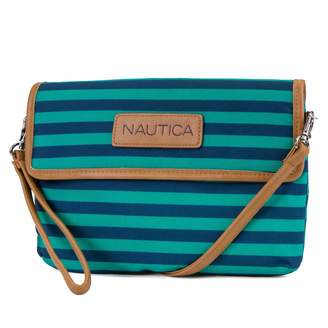 Nautica Perfect Carry-All Rfid Blocking Mini Crossbody Wallet Wristlet Clutch