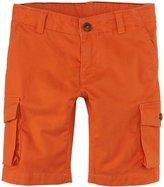 Petit Bateau Shorts with Side Pockets (Toddler Kids) - Orange-3 Years
