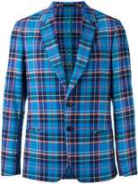 Paul Smith plaid blazer - men - Cotton - 52
