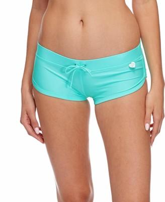 Body Glove Women's Sidekick Sporty Bikini Bottom Swimsuit Short