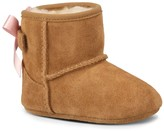 Sole Society Baby Jesse Bow suede baby bootie