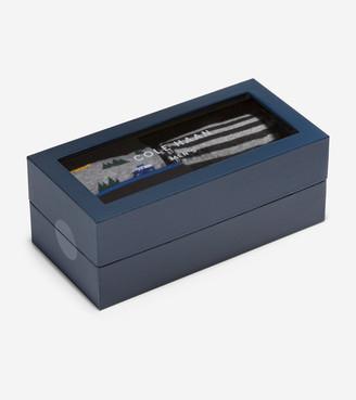 Cole Haan 4 Pair Camper Print Sock Gift Box