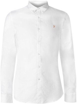 Farah Oxford Long Sleeve Shirt