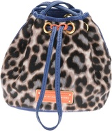 Marc by Marc Jacobs leopard print bucket bag