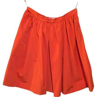 RED Valentino Orange Cotton - elasthane Skirt for Women