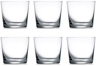 Noritake IVV by Acquacheta 6 Piece Water Tumbler Glass Set 410ml