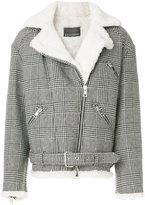 Ermanno Scervino zipped check jacket