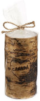 The Canada Collection 6in Heart Canada Birch Pillar Candle
