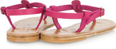 K Jacques St Tropez Picon leather sandals