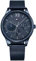 Tommy Hilfiger 1791421 Damon Blue Mesh Bracelet Mens Watch