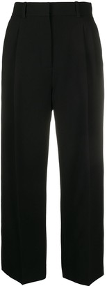 Racil Cropped Wide Leg Trousers