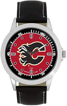 Game Time NHL Calgary Flames Mens Player Series Wrist Watch