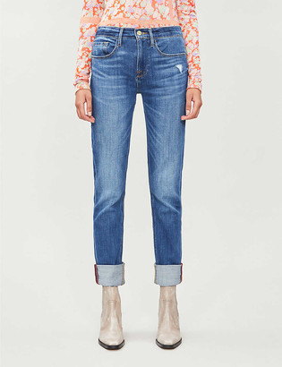 Frame Tapered high-rise jeans