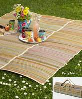 Let the Good Times Roll Picnic Mat