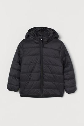 H&M Padded Lightweight Jacket - Black
