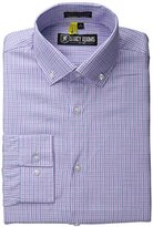Stacy Adams Men's Long Sleeve Shirt with Regular Cuffs