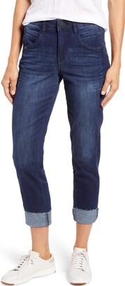 Wit & Wisdom Ab-Solution High Waist Slim Straight Leg Jeans