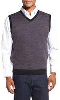 Toscano V-Neck Birdseye Vest