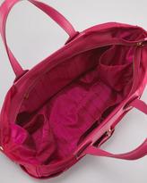 Marc by Marc Jacobs Eliz-A-Baby Preppy Nylon Diaper Bag, Fuchsia