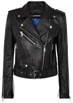 Filles a papa Rick Leather Biker Jacket