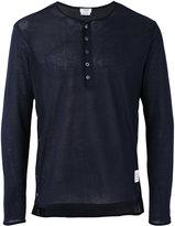 Thom Browne long sleeve sweatshirt - men - Cotton - 0