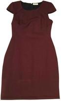 BA&SH Bash Burgundy Cotton - elasthane Dresses