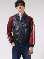 Diesel DieselTM Leather jackets 0DAMJ - Blue - L