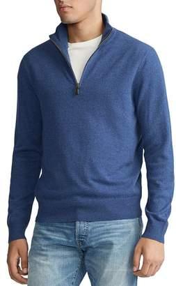 Polo Ralph Lauren Merino Wool Half-Zip Sweater