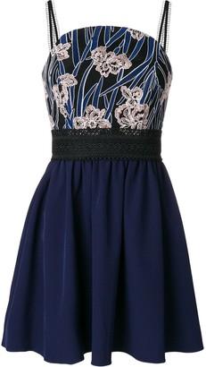 Three floor Alma mini dress