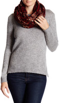 Collection XIIX Metallic Accent Knit Infinity Scarf