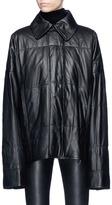 Haider Ackermann Oversized leather jacket