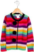 Sonia Rykiel Girls' Wool Pom Pom-Adorned Sweater